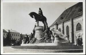 Kolozsvar (Cluj-Napoca), Romania - statue - Hungarian stamp 1928