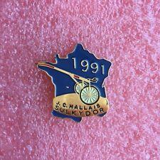 Pins Cheval Turf Hippisme Course SULKY D'OR J.C. HALLAIS