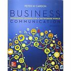 Business Communication:  Developing Leaders for a Networked World by Peter Cardon (Paperback, 2016)