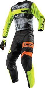 Jersey Pant MX Motocross Dirt Bike ATV Off-Road Gear Thor Pulse Big Kat Combo