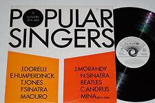 POPULAR SINGERS - (The Beatles, Mina...) LP Balkanton Records - Bulgarien Press