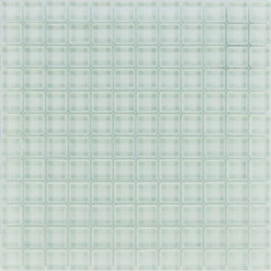 Glasmosaik Fliesen  weiß uni  Wand   Dusche WC Küche   10 Matten   ES-33799 _f