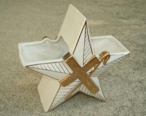 Vtg-1957-STAR-CROSS-SHEPHERD-039-S-STAFF-ROD-PLANTER-VASE-TEMPLE-TREASURES-KISTNER