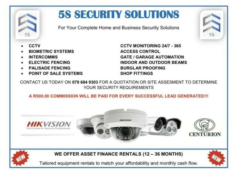 5S Security Solutions - CCTV - Gate Automation & More