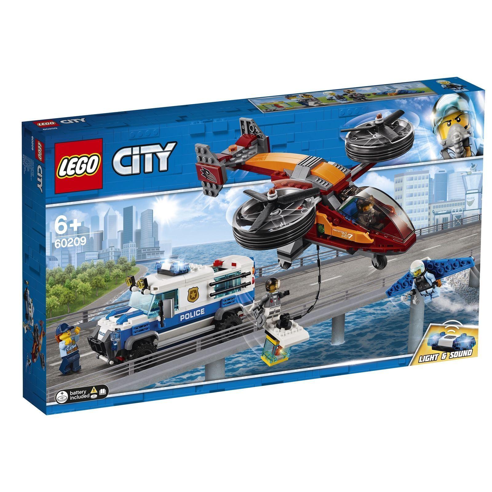 LEGO® City - 60209 Polizei Diamantenraub + NEU & OVP +