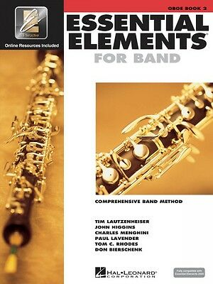 Competent Essential Elements For Band Book 2 With Eei Oboe Book Media Online New 000862589 Be Novel In Design Wind & Woodwinds Instruction Books, Cds & Video