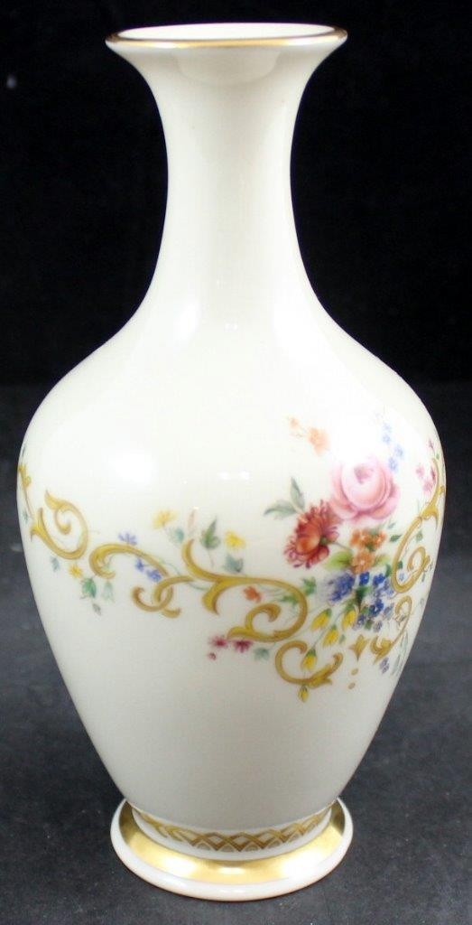 Lenox Porzellan Königin Garten Langhalsvase Hervorragender Zustand | Billig