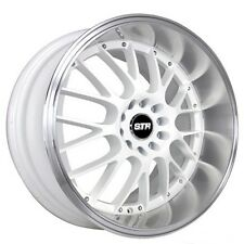"(4rims) 17"" STR Wheels 514 White JDM Style Rims"