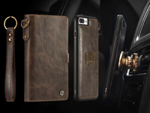 Genuine-CaseMe-Magnetic-Leather-Wallet-Flip-Case-Cover-For-iPhone-11-Pro-XS-Max