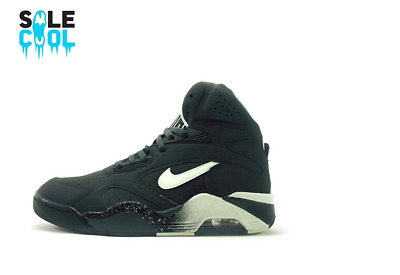 NEW Nike Air Force 180 Glow In The Dark Anthracite Basketball 537330 001 Sz 11.5