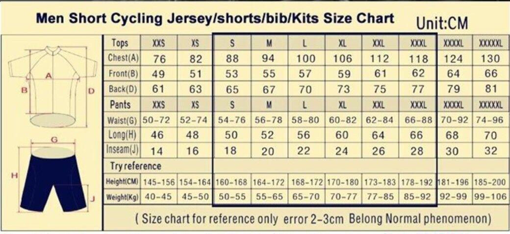 Cycling Jersey Bib Shorts Kit Bike Racing Road Bicycle Riding Tri MTB Sports Bicycle Road New fa1023
