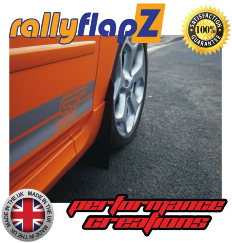 Ford Focus Mk2 ST ST225 Black Mud Flaps Mudflaps Rally Style Look Mud Guards