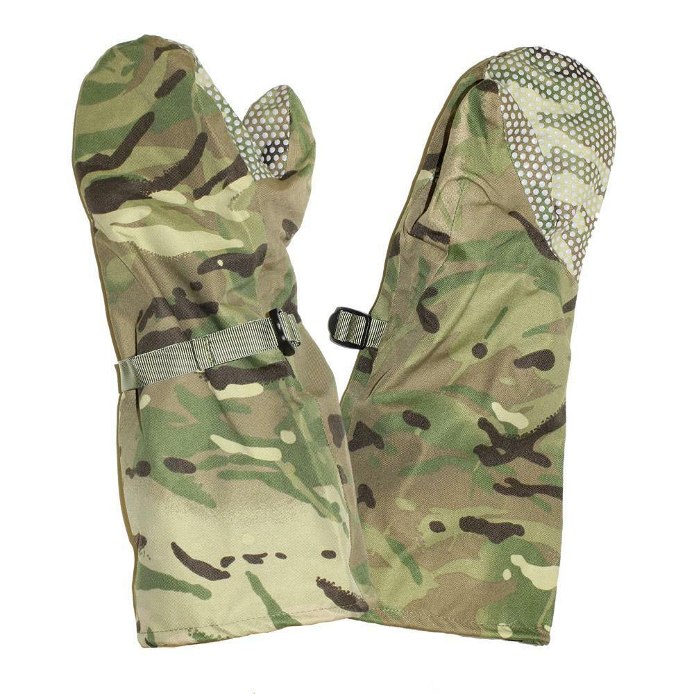 British Army Surplus MVP MTP Outer Waterproof & Breathable Cold Weather Mitt's
