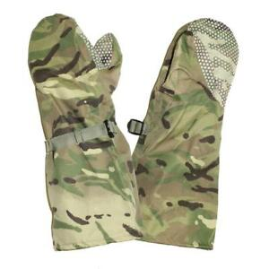 Details about BRITISH ARMY SURPLUS GORE-TEX WOODLAND MTP OUTER WATERPROOF  COLD WEATHER MITTS