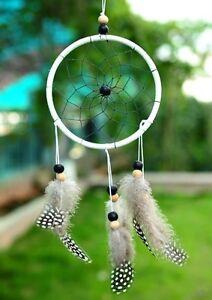 Magnifique-Attrapeur-De-Reve-Dreamcatcher-Plumes-Attrape-Reves-Indien-Inde-Deco