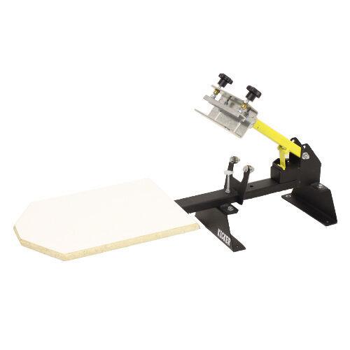 ScreenPrinting Press One 1 color 1 station 1x1 Kicker tshirt printing machine