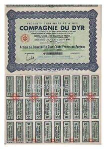 ACTION-2500-FR-COMPAGNIE-DU-DYR-produits-chimiques-et-mines-1943