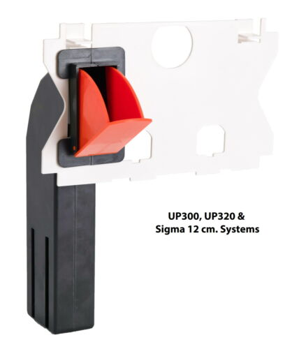 Geberit Spülkasten Sigma UP320//UP300 u Delta UP100 StarBlueDisc Einwurfschacht