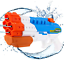 Água de grande capacidade armas poderosas Blaster Super Pistola Pistola De Água Brinquedo Infantil Grande