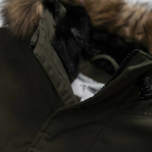 RRP £240 NEW Carhartt IO21869 Mens Trapper Parka Jacket in Black S,M,L,XL,XXL
