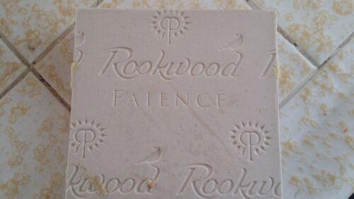 CALIFORNIA ARTS//CRAFT  NEW ROOKWOOD FAIENCE TILE  MISSION