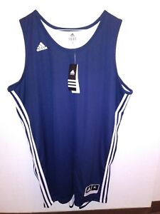 52d8f4f34999 Image is loading SUPER-Adidas-collegiate-navy-white-reversible-jersey-tank-