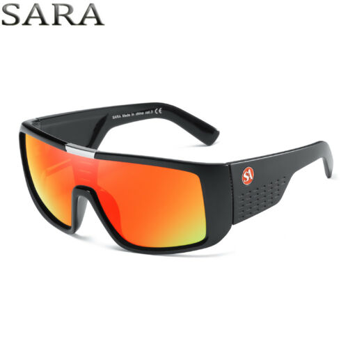 New Windproof Large Oversized Sunglasses Outdoor Sport Cycling Bike Goggles 8