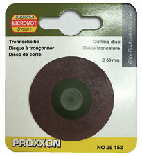 Proxxon replacement cutting disc 28152 for cut of saw KG 50 / RDGTools