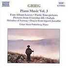 Edvard Grieg - Grieg: Piano Music, Vol. 3 (1995)