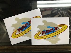 Planet-Jr-Decal-for-Walking-Tractors-New-Art-Seeders-And-Implements-2-For-1