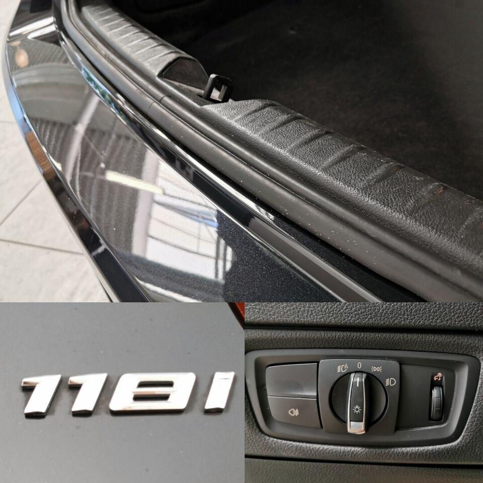 BMW 118i 1,5 Connected aut. Benzin aut. Automatgear