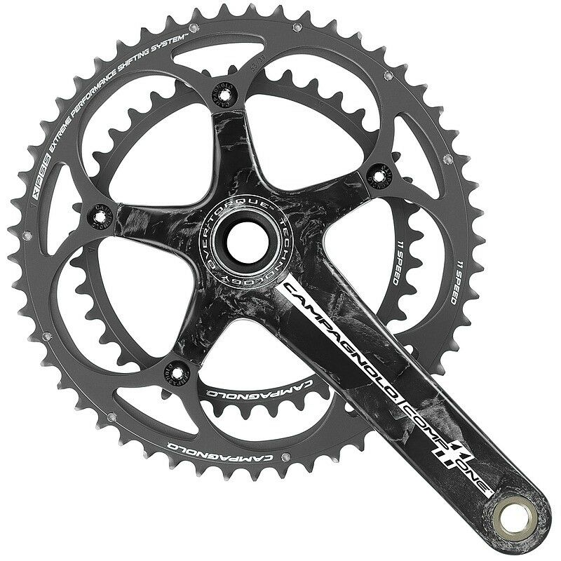 Campagnolo Comp One Over Torque 11 Speed Carbon Chainset 172mm 39 53T