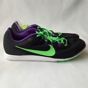 New Nike Zoom Rival D 9 Distance Running Shoes Mens Sz 11 Spikes Tool 806556-035