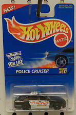POLICE CRUISER AUTO CITY FORD 1996 577 HW HOT WHEELS