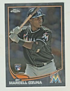 2013-Topps-Chrome-Update-MB-35-MARCELL-OZUNA-RC-Rookie-Atlanta-Braves