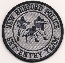 SWAT MASSACHUSETTS NEW BEDFORD SRT ENTRY TEAM Police Patch SEK Polizei  Aufnäher