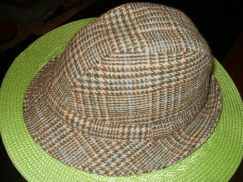 Irish Hat Ireland Shandon Size 7-1/4""