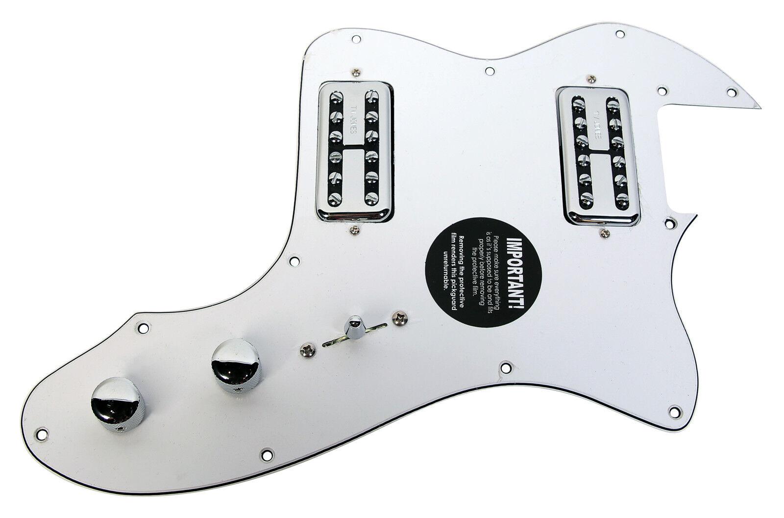 920D Fender Classic Series '72 Telecaster Tele Thinline TV Jones Classic Weiß