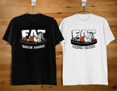 HOT NEW FAT WRECK CHORDS Men/'s Clothing Black T Shirt Size S-3XL