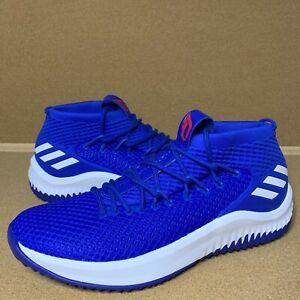 Adidas Dame 4 Size 11.5 Royal Blue