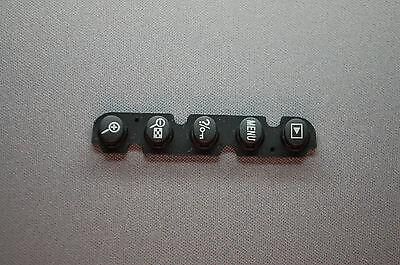 Nikon D90 Rear/Back Cover Key RUBBER BOTTOM TERMINAL OK Zoom Menu CAP COVER