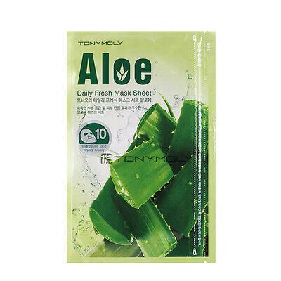 [TONYMOLY] Aloe Daily Fresh Mask Sheet 15g*10pieces