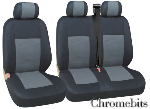 IVECO TURBO DAILY SEAT COVERS GREY 2+1 QUALITY FABRIC