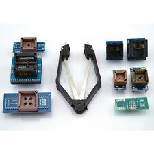 8x Programmer Adapters Sockets Kit for TL866CS TL866A EZP2010 w/ IC Extractor