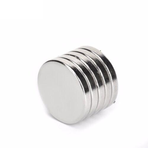 Neodym Magnete 20 x 3 mm Supermagnete hohe Haftkraft Scheibenmagnet N35 25 Stück