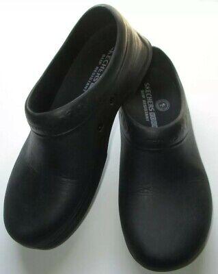 skechers mules black