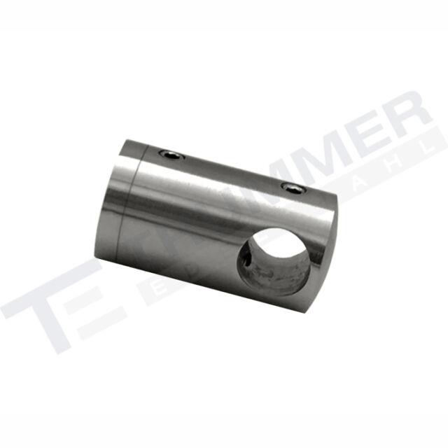 Edelstahl Querstabhalter Seilführung GERADE x Seil 6mm