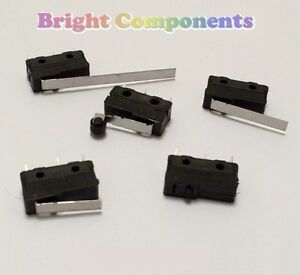 V4-Miniature-Microswitch-Various-Types-Micro-Switch-1st-CLASS-POST