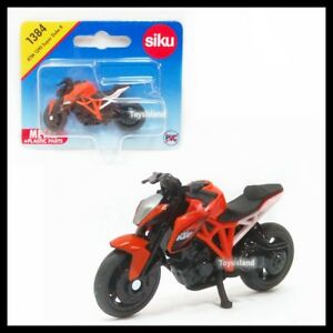 Siku 1384 Ktm 1290 Super Duke R Motorcycle Bike Diecast Car Gift New
