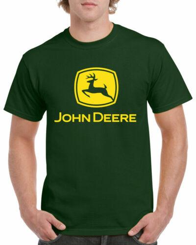 John Deere T-Shirt Inspired Tractor Enthusiast Farming Unisex Adults Tee Top
